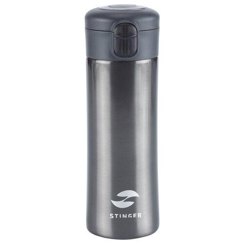 Термокружка STINGER HW-350-34, 0.35 л черный
