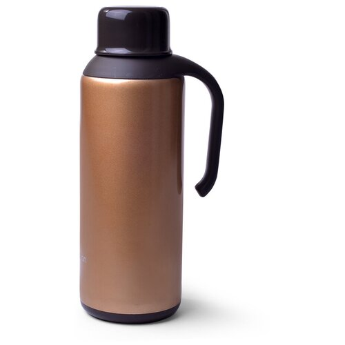 Классический термос Fissman 9783, 1.5 л коричневый