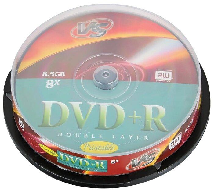 Диск DVD+R VS 8.5 Gb 8x