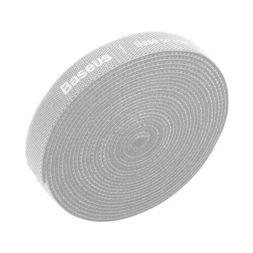 Хомут Baseus Colourful Circle Velcro strap серый