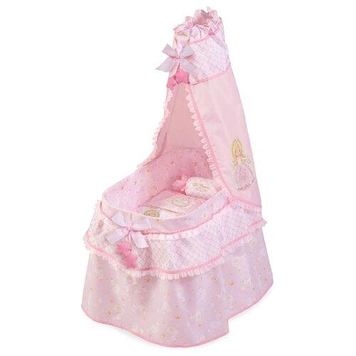 Купить 51028 Кроватка с балдахином серии Мария, 60 см, DeCuevas, Мебель для кукол