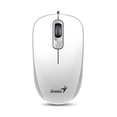 Фото - Мышь Genius DX-110 Black USB, white мышь genius dx 120 calm black usb