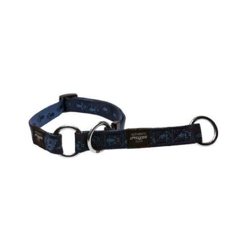 Ошейник-удавка Rogz Alpinist L 34-56 см синий