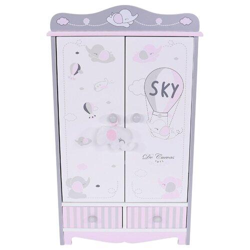 Купить 54035 Гардеробный шкаф для куклы серии Скай, 54 см, DeCuevas, Мебель для кукол