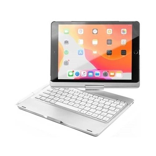 Чехол с клавиатурой Barn&Hollis УТ000019297 Silver для Apple iPad 10.2 (2019)