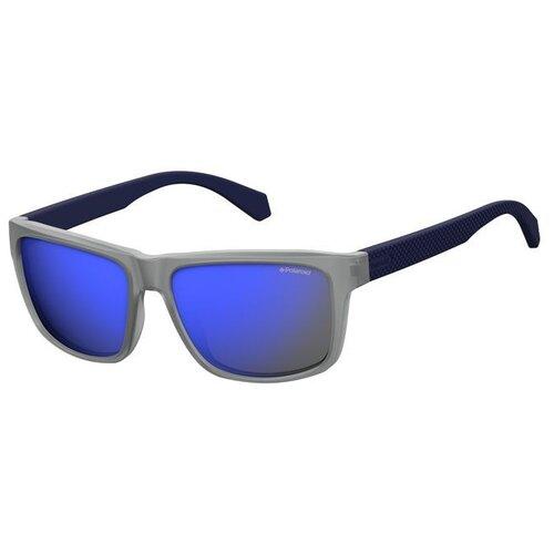 Солнцезащитные очки мужские Polaroid PLD 2058/S,MATT BLUE