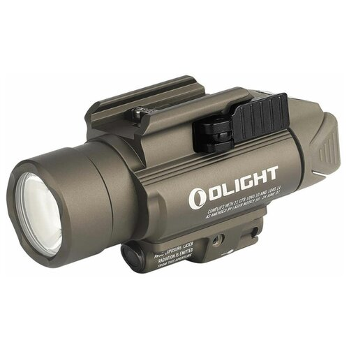 Фото - Подствольный фонарь Olight BALDR Pro Desert Tan (с лазерным целеуказателем) фонарь olight baldr pro