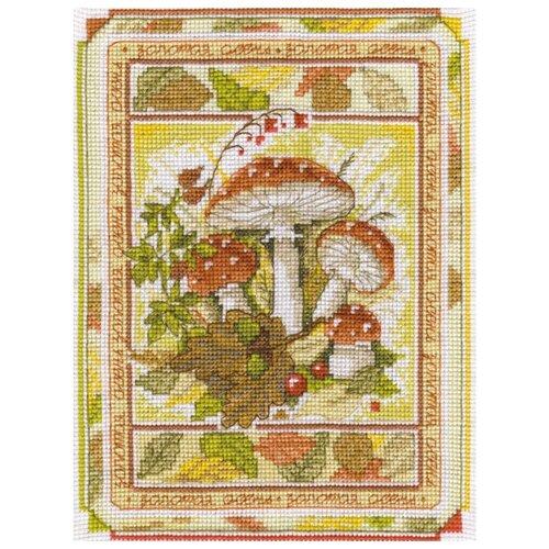 Klart Набор для вышивания Времена года. Осень 16 x 21 см (8-098)