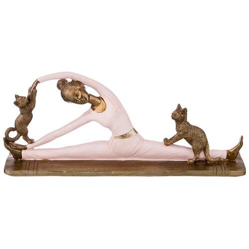 Фото - Статуэтка йога серия фьюжн 27,5 см Lefard (162-698) статуэтка lefard йога серия фьюжн 13 5х7х18 5 см 162 700