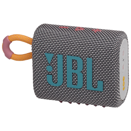 Портативная акустика JBL GO 3, 4.2 Вт, grey