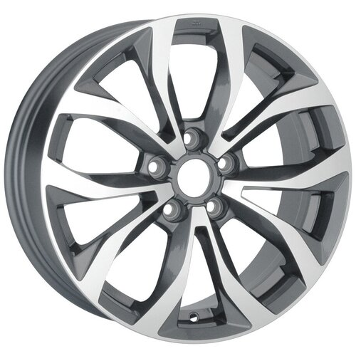 Фото - Колесный диск Replay A69 7х16/5х112 D57.1 ET35, GMF колесный диск replay ty191 7х16 6х139 7 d106 1 et30 silver