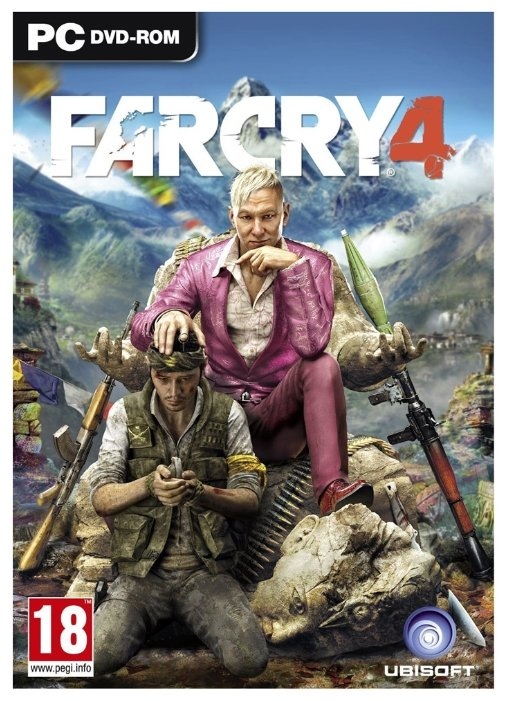 Far Cry 4 (русская версия) (Xbox 360)