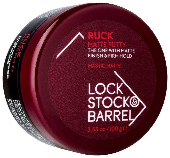 Lock Stock & Barrel Мастика Ruck Matte Putty, средняя фиксация