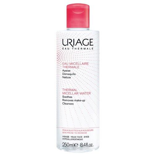 Uriage мицеллярная вода очищающая для чувствительной, склонной к покраснению кожи, 250 мл uriage мицеллярная вода очищающая для чувствительной склонной к покраснению кожи 100 мл