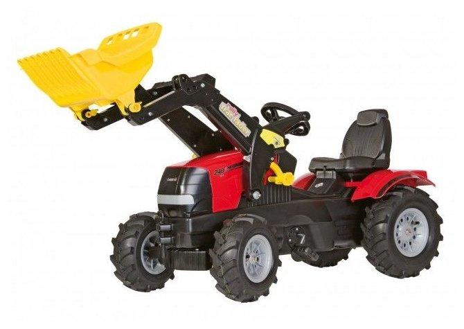Веломобиль Rolly Toys RollyFarmtrac Case Puma (611126)