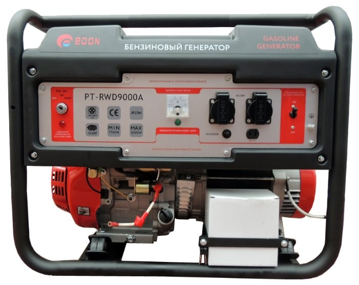 Бензиновый генератор Edon PT-RWD9000A (7500 Вт)