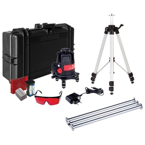 Лазерный уровень самовыравнивающийся ADA instruments ULTRALiner 360 4V Set (A00477) со штативом лазерный нивелир ada ultraliner 360 4v