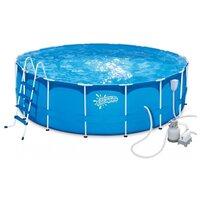 Бассейн каркасный Summer Escapes P20-1352-S (396х132 см, песчаный фильтр-насос, полный комплект аксессуаров)