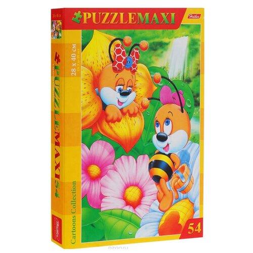 Купить Пазл Hatber MAXI Пчелки (54ПЗ3_00206), 54 дет., Пазлы