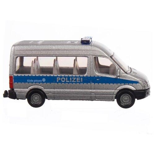 машины siku бетономешалка 1896 1 87 Фургон Siku Полицейский (804) 1:87 серебристый