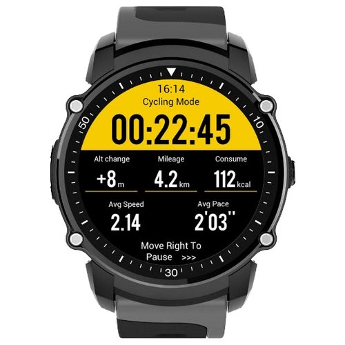 Часы KingWear FS08 черныйУмные часы и браслеты<br>