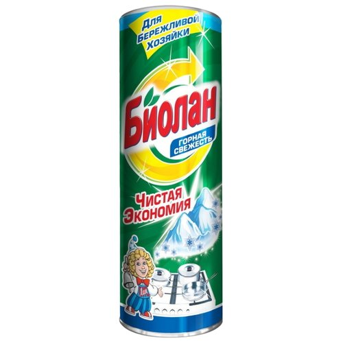 Сухое чистящее средство Горная свежесть Биолан 400 г