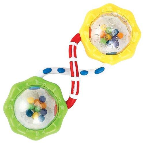 Погремушка Happy Baby Fun Up желтый/зеленый боди up baby up baby mp002xc00p3k