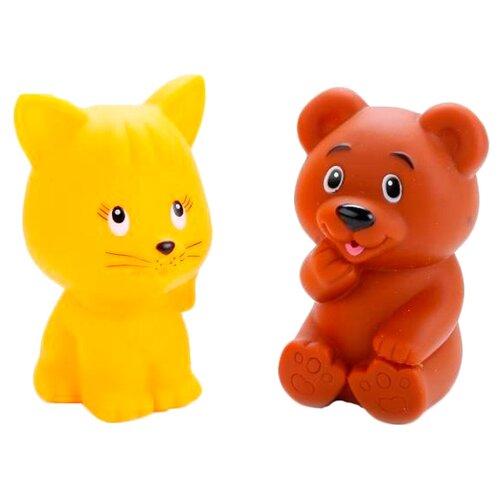 Купить Набор для ванной Играем вместе Кот и мишка (LXB336_340), Игрушки для ванной