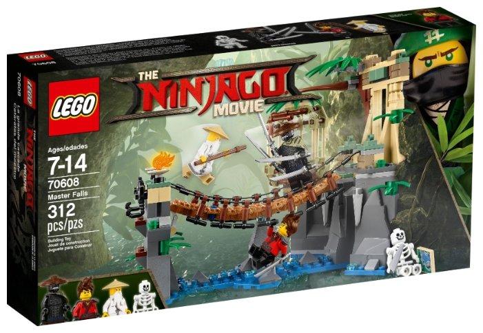Конструктор LEGO The Ninjago Movie 70608 Битва Гармадона и мастера Ву