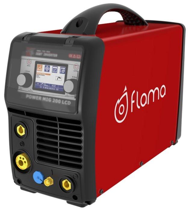 Сварочный аппарат Flama POWER MIG 200 LCD