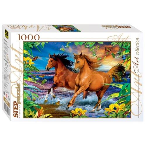 Купить Пазл Step puzzle Art Collection Лошади (79097), 1000 дет., Пазлы