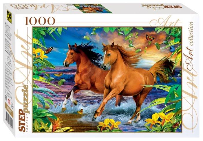 Пазл Step puzzle Art Collection Лошади (79097), 1000 дет.