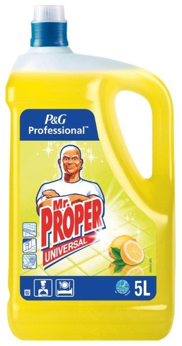 Mr. Proper Универсальное жидкое моющее средство Professional Лимон