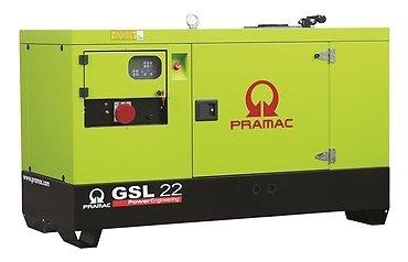 Дизельная электростанция Pramac GSL 22 D в кожухе