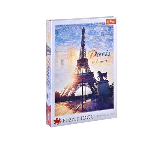 Купить Пазл Trefl Париж на рассвете (10394), 1000 дет., Пазлы