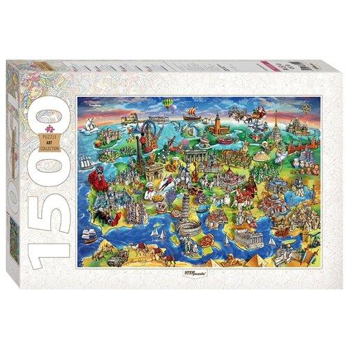 Купить Пазл Step puzzle Art Collection Достопримечательности Европы (83059), 1500 дет., Пазлы