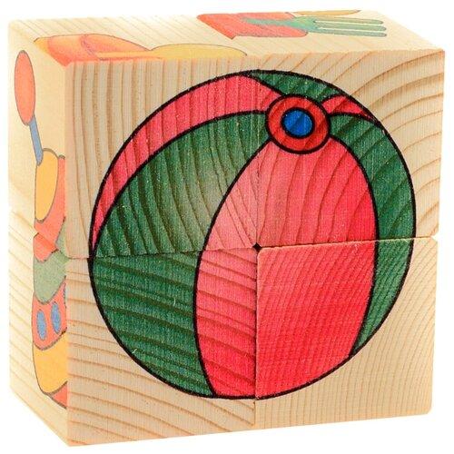Купить Кубики-пазлы АНДАНТЕ Игрушки Д482а, Детские кубики