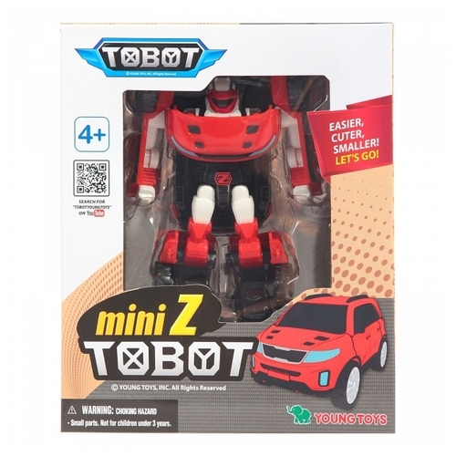 Трансформер YOUNG TOYS Tobot Mini Z 301030 Роботы и трансформеры