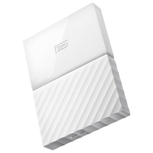 Внешний жесткий диск Western Digital My Passport 1 TB (WDBBEX0010B) белыйВнешние жесткие диски и SSD<br>