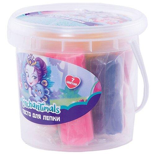 Купить Масса для лепки CENTRUM Enchantimals 7 цветов по 30 г (88636), Пластилин и масса для лепки