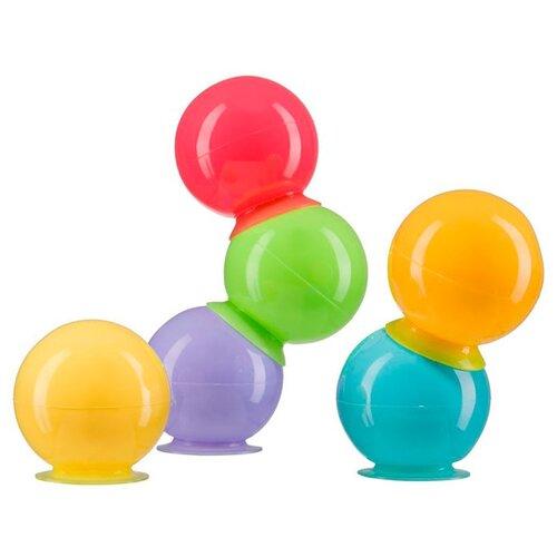 Купить Набор для ванной Happy Baby IQ-Bubbles (32017) разноцветный, Игрушки для ванной