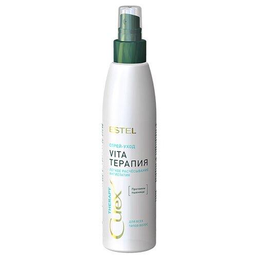 Estel Professional CUREX Therapy Спрей-уход для волос для облегчения расчесывания, 200 млМаски и сыворотки<br>