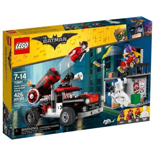 Конструктор LEGO The Batman Movie 70921 Тяжёлая артиллерия Харли КвиннКонструкторы<br>