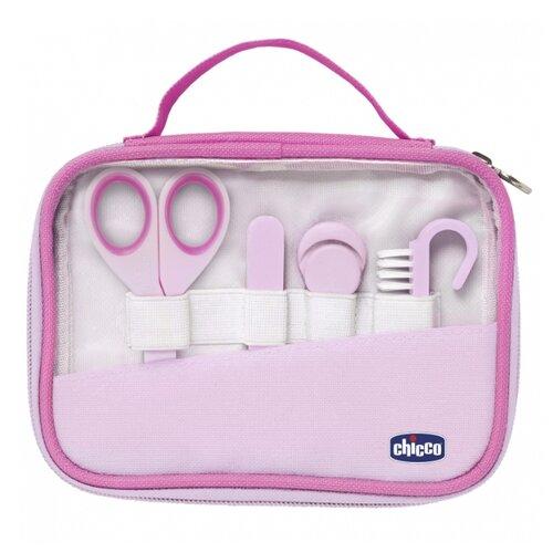 Купить Chicco Маникюрный набор Happy Hands розовый, Маникюрные принадлежности