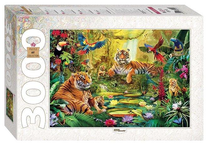 Пазл Step puzzle Art Collection В джунглях (85012), 3000 дет.
