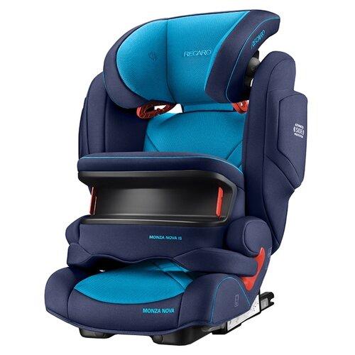 Фото - Автокресло группа 1/2/3 (9-36 кг) Recaro Monza Nova IS Seatfix, Xenon Blue автокресло группа 1 2 3 9 36 кг recaro young sport hero prime sky blue