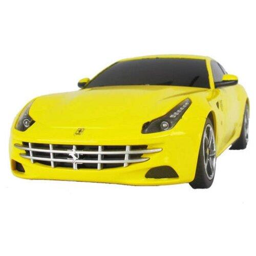 Легковой автомобиль Rastar Ferrari FF (46700) 1:24 19 см желтый цена 2017