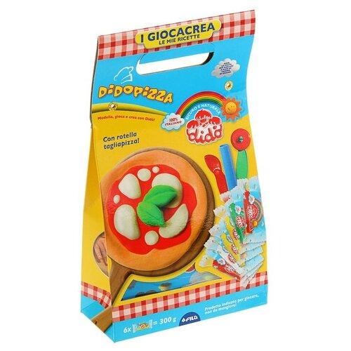 Масса для лепки Dido Пицца (399000) набор для лепки dido cake 6 цветов 399100