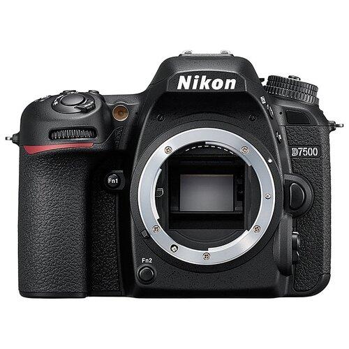 Фотоаппарат Nikon D7500 Body черный фото