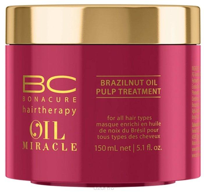 BC Bonacure Oil Miracle Brazilnut Pulp Treatment Маска для волос с маслом бразильского ореха